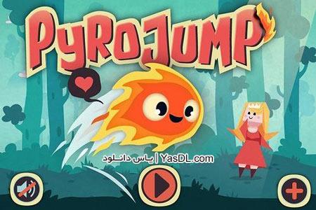 دانلود بازی کم حجم Pyro Jump برای کامپیوتر