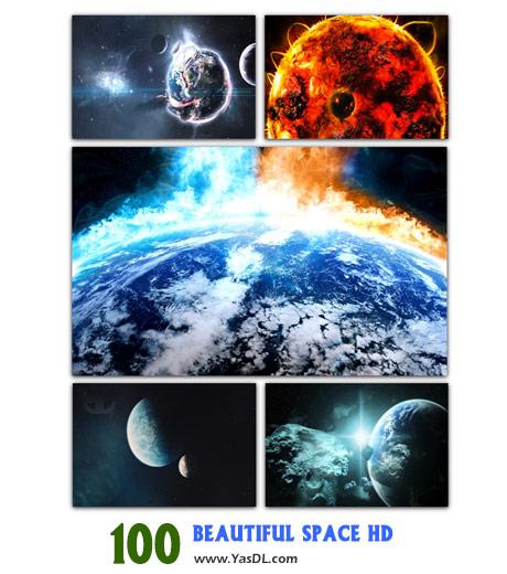دانلود مجموعه 100 والپیپر فضایی Beautiful Space HD Wallpapers