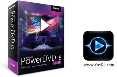 دانلود CyberLink PowerDVD Ultra 15.0.2003.58 Final - پاور دی وی دی پلیر DVD