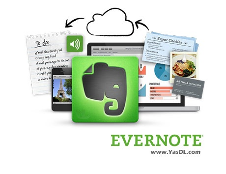 دانلود Evernote 5.9.5.9380 - نرم افزار یادداشت برداری