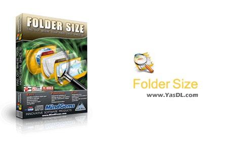 دانلود Folder Size 2.6 جستجوی آسان فایل ها و پوشه ها