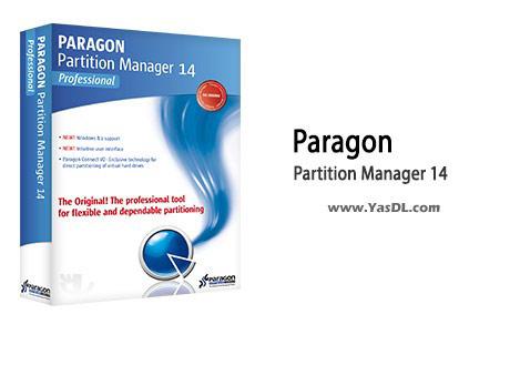 دانلود Paragon Partition Manager 2014 Free 10.1.21.236 - نرم افزار پارتیشن بندی