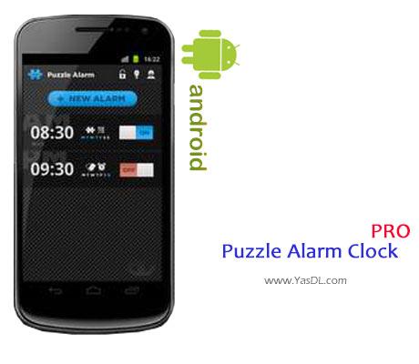 دانلود Puzzle Alarm Clock PRO v2.1.7 برای اندروید