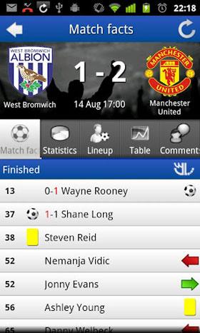 دانلود FotMob v22.3   نتایج و جدول تیم های فوتبال برای اندروید