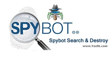 دانلود Spybot Search & Destroy 2.4 - شناسایی و نابودسازی بد افزارها