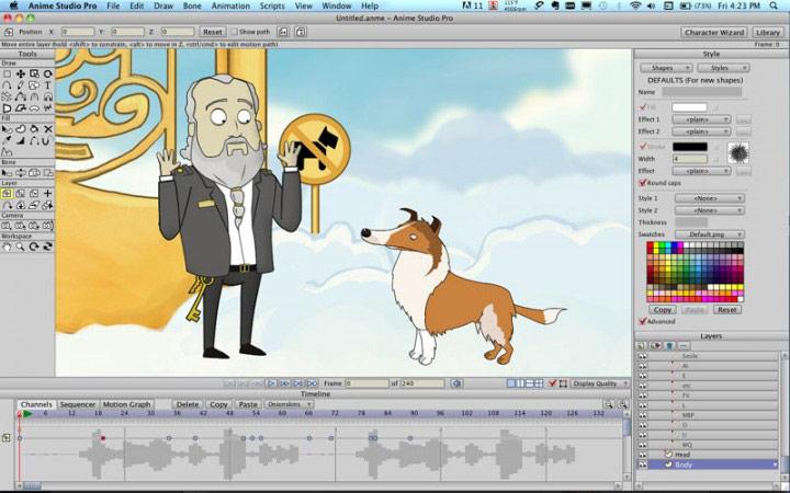 Character Design Anime Studio Story : دانلود anime studio pro  نرم افزار ساخت انیمیشن