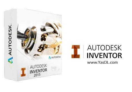 دانلود Autodesk Inventor Professional 2015 Update 2 x86/x64 - نرم افزار طراحی قطعات صنعتی