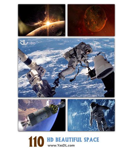 دانلود مجموعه 110 والپیپر از فضا HD Wallpapers With Beautiful Space