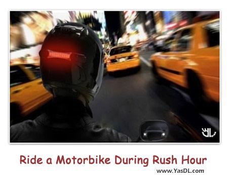 دانلود کلیپ موتور سواری دیوانه وار در خیابان های شلوغ
