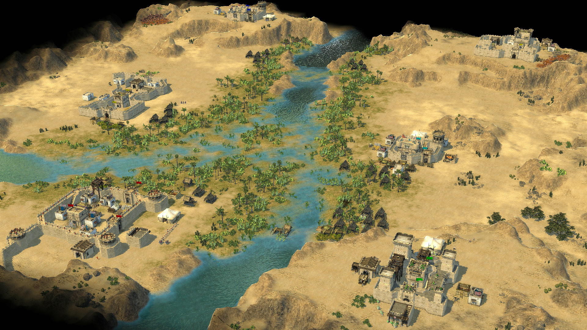 how to set up a stronghold cruasder multiplayer match steam