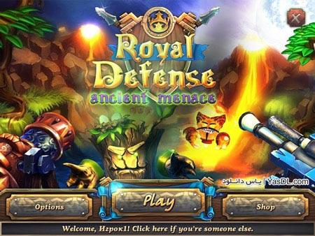 دانلود بازی کم حجم Royal Defense 3 Ancient Menace برای کامپیوتر