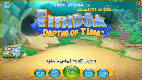دانلود بازی کم حجم Fishdom Depths of Time Collectors Edition برای کامپیوتر