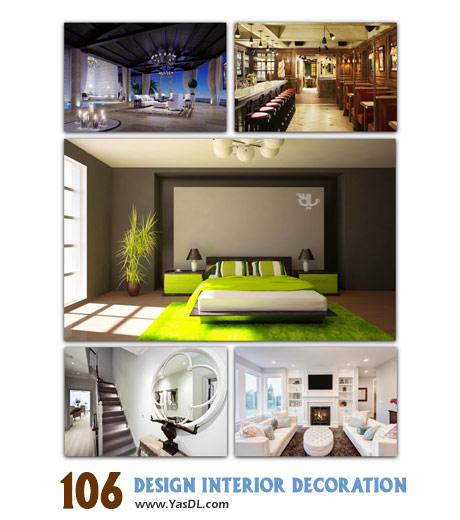دانلود مجموعه 106 والپیپر طراحی داخلی و دکوراسیون