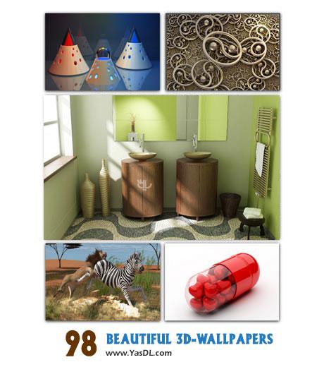 دانلود مجموعه 98 والپیپر سه بعدی Beautiful 3D-Wallpapers