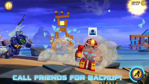 دانلود نسخه پول بی نهایت بازی Angry Birds Stella