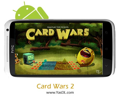 دانلود بازی Card Wars - Adventure Time v1.1.5 برای اندروید