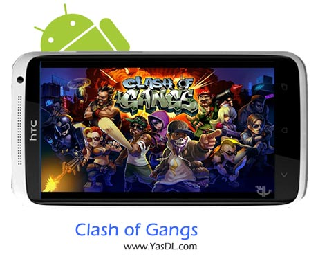 دانلود بازی Clash Of Gangs v1.1.33 برای اندروید + پول بی نهایت