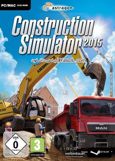 دانلود بازی Construction Simulator 2015 برای PC