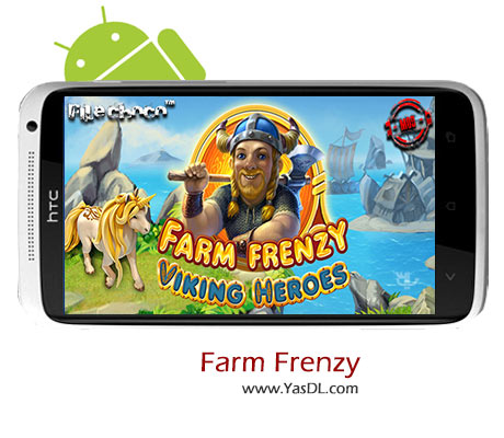 دانلود بازی Farm Frenzy Viking Heroes v1.1 برای اندروید + پول بی نهایت