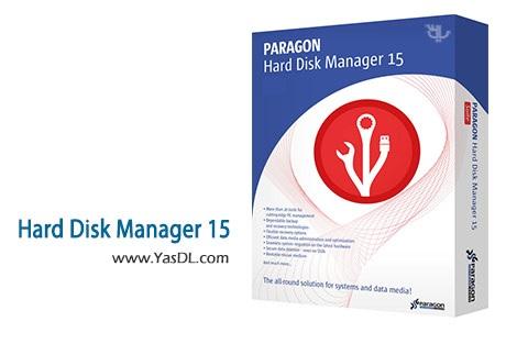 دانلود Paragon Hard Disk Manager 15 Premium 10.1.25.813 x86/x64 - مدیریت هارد دیسک