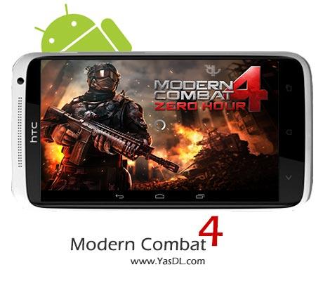 دانلود بازی Modern Combat 4: Zero Hour v1.1.7 برای اندروید