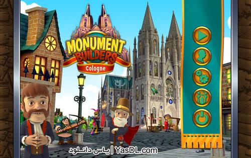 دانلود بازی کم حجم Monument Builders 9 Cologne برای کامپیوتر