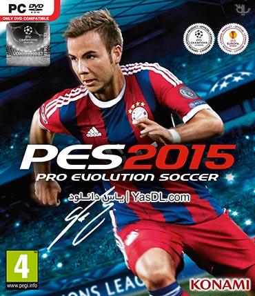 دانلود بازی PES 2015 برای PC