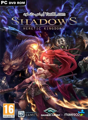 دانلود بازی Shadows Heretic Kingdoms Book One Devourer of Souls برای PC
