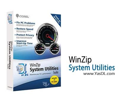 دانلود WinZip System Utilities Suite 2.7.1100.16429 بهینه ساز ویندوز