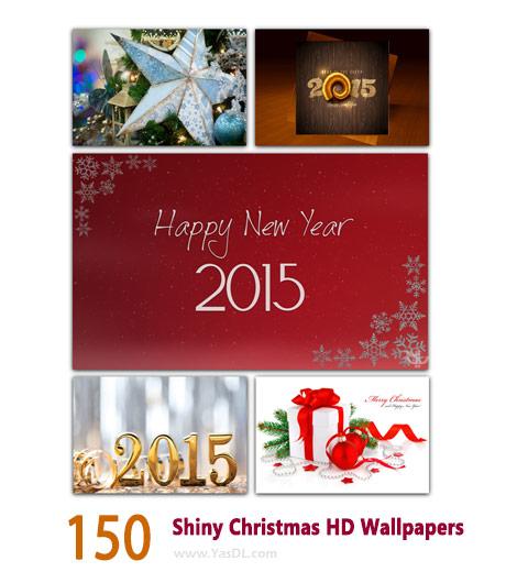 دانلود مجموعه 150 والپیپر کریسمس Shiny Christmas