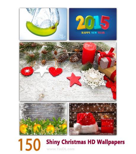 دانلود مجموعه 150 والپیپر کریسمس Shiny Christmas HD Wallpapers