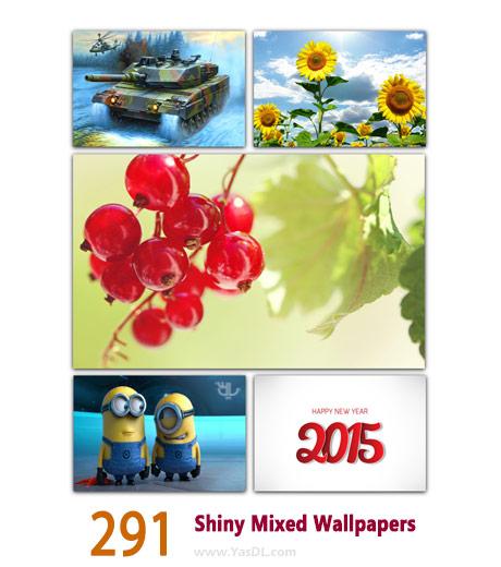 دانلود مجموعه 291 والپیپر کریسمس Shiny Mixed Wallpapers