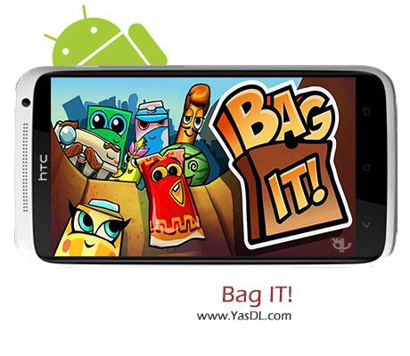 دانلود بازی Bag It v3.2.3 - بازی فکری برای اندروید