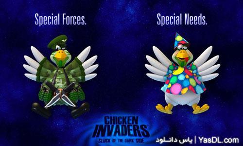 دانلود بازی Chicken Invaders 5: Cluck Of The Dark Side برای کامپیوتر