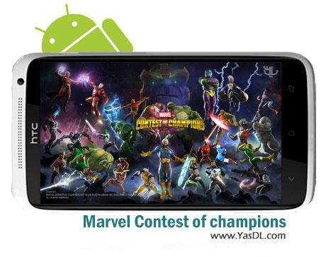 دانلود بازی Marvel Contest of champions 7.0.3 برای اندروید + دیتا