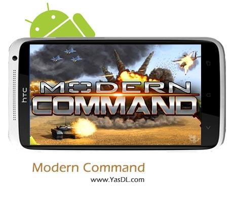 دانلود بازی Modern Command v1.6.0 برای اندروید + پول بی نهایت