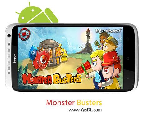 دانلود بازی Monster Busters v1.2.0 برای اندروید