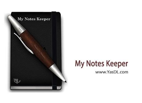 دانلود My Notes Keeper 3.4.1830 Final مدیریت و برنامه ریزی کارهای روزانه
