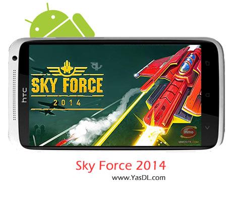 دانلود بازی Sky Force 2014 v1.36 برای اندروید + پول بی نهایت