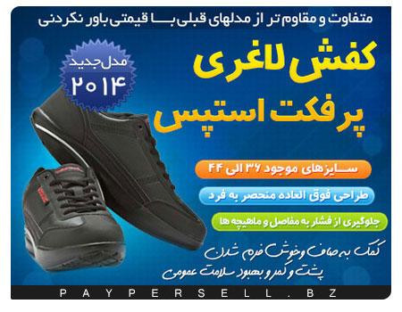 کفش پرفکت استپس 2014