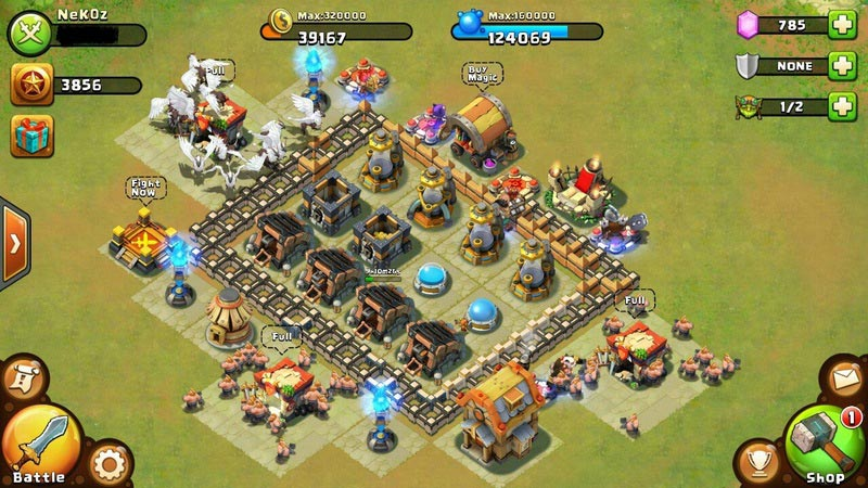 Castle Clash Game 1.7.81 For Android + Data | ‌ Despair