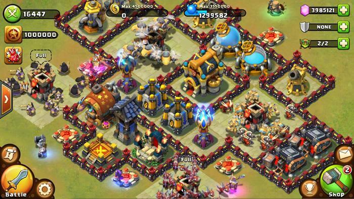 بازی تیفانی بی نهایت دانلود بازی Castle Clash 1.4.7 برای اندروید + دیتا | یاس ...