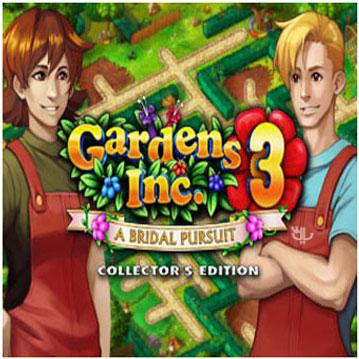 دانلود بازی Gardens Inc. 3: A Bridal Pursuit CE برای کامپیوتر