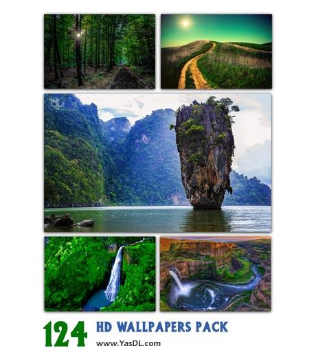 دانلود مجموعه 124 والپیپر طبیعت HD Wallpapers Pack