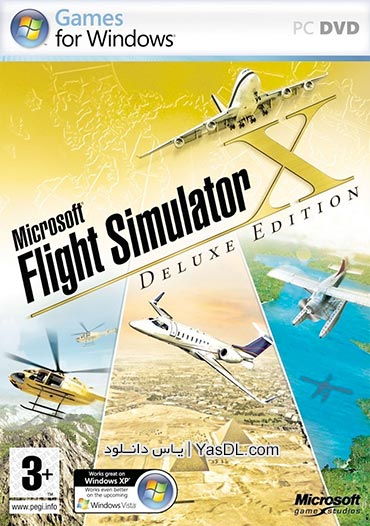 دانلود بازی Microsoft Flight Simulator X Steam Edition برای PC