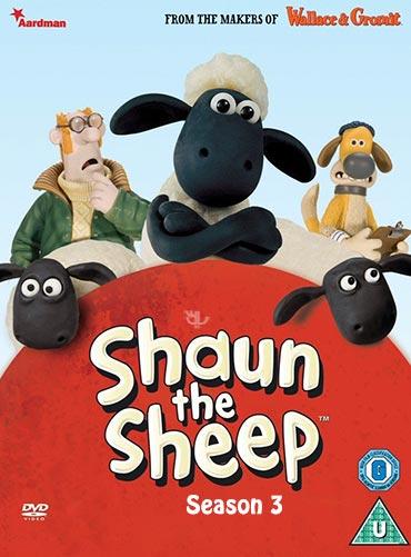 دانلود فصل سوم سریال کارتونی بره ناقلا Shaun the Sheep Season 3 2012