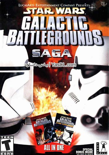 دانلود بازی Star Wars Galactic Battlegrounds Saga v2.0.0.1 برای PC