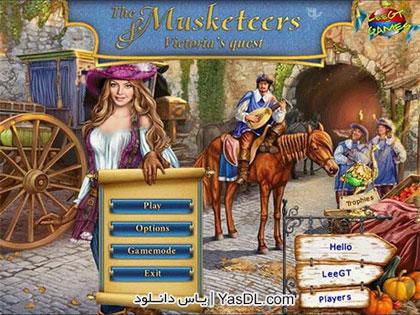 دانلود بازی کم حجم The Musketeers Victorias Quest برای PC