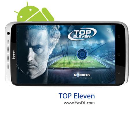دانلود بازی Top eleven v2.36 - بازی مربیگری فوتبال برای اندروید