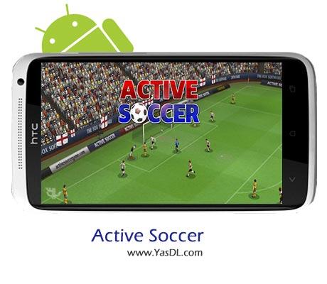 دانلود بازی Active Soccer 2 v1.0.8 برای اندروید